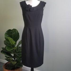 Calvin Klein Little Black Dress Detailed lined